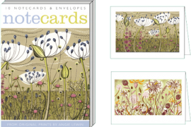 Card Set (Wallet): Agapanthus & Autumn Spey