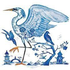 Paper Napkins (Lunch): Prince's Egret