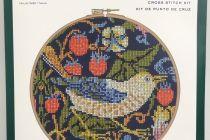 Cross Stitch Kit (V&A): William Morris - Strawberry Thief