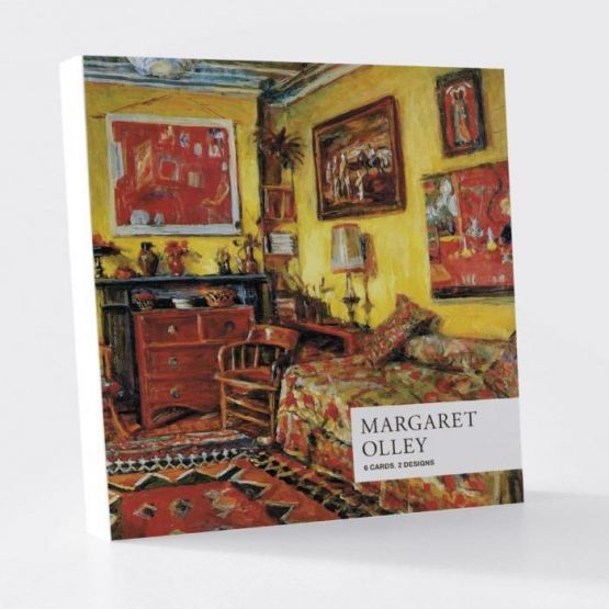 Card Set (Wallet): Margaret Olley -Interior 1, 1972 /Yellow Interior, 1989