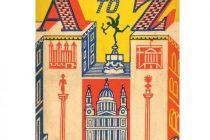 Card  (Edward Bawden): London A-Z
