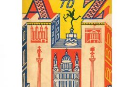 Card  (Edward Bawden): London A-Z
