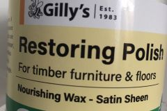 Gilly's Restoring Polish (clear)