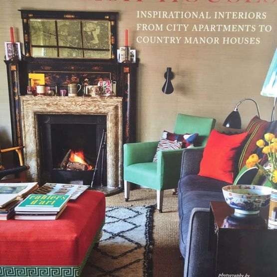 Book: English Houses-Inspirational Interiors from City Apartments to Country Manor Houses