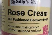 Gilly's Cream Polish (200mL): Rose