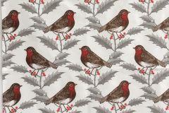 Tea Towel (Thornback & Peel): Robin & Holly