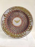 Tin Plate: Ashmolean - Gold Butterfly