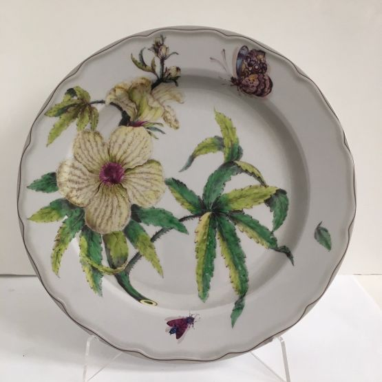 Tin Plate: Fitzwilliam Museum - Botanical Dessert Plate