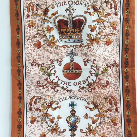 Tea Towel (Emma Bridgewater): Crown Jewels