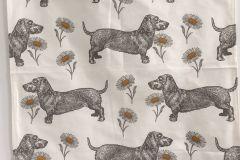 Tea Towel (Thornback & Peel): Dog & Daisy