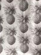 Tea Towel (Thornback & Peel): Pineapple Grey