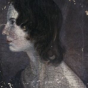 portrait of Emily Brontë circa 1833 new webpage crop