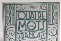 Card Set (Boxed): Quatre Mots Francais