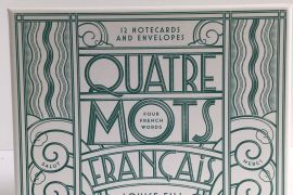 Card Set (Boxed): Quatre Mots Francais