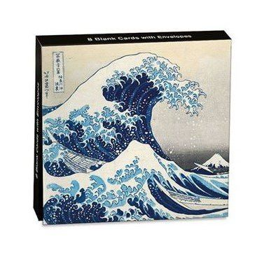 Card Set (Wallet): Mini Notecard - The Great Wave