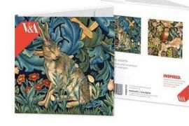 Card Set (Boxed):  Notecards- Tapestry Wildlife