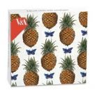 Card Set (Wallet): Mini Notecard - Pineapples and Butterflies