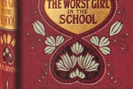 Card (Die-cut): The Worst Girl in the School