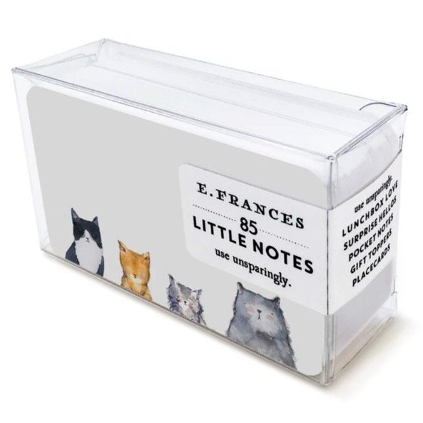 Card Set (Boxed): Little Notes - Cats