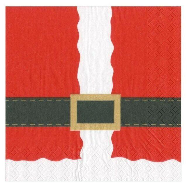 Paper Napkins (Lunch): Christmas - Santa Costume