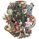 Card (3D Pop up): Christmas - Nutcracker