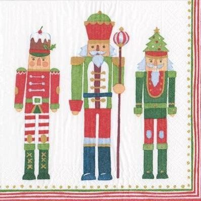 Paper Napkins (Lunch): Christmas - March of the Nutcrackers