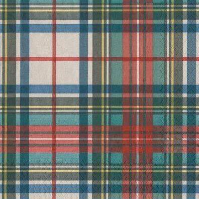 Paper Napkins (Lunch):Dress Stewart Tartan