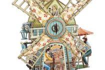 Card (3D Pop up: The Windmill Tea Shop