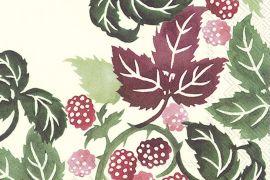 Paper Napkins (Lunch): Emma Bridgewater - Blackberries Cream