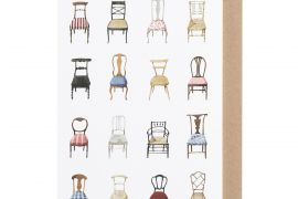 Card (Laura Stoddart): Musical Chairs