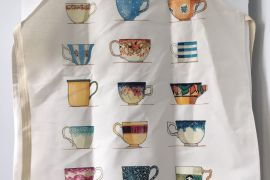 Apron (Red Tractor Designs): Tea Cups