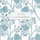 Card (V & A): With Sympathy (Lindsay P, Butterfield)