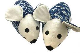 Door Stopper (Thurlby): Scented Door Mouse-Indigo