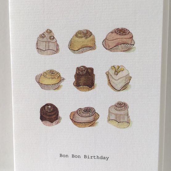 Card (Tokyo Milk): Bon Bon Birthday