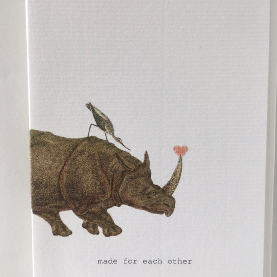 Card (Tokyo Milk): Made for each other