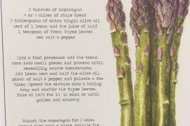 Card (Culinary): Asparagus