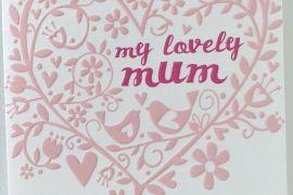 Card (Caroline Gardner): My Lovely Mum