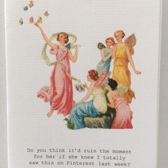 Card (Tokyo Milk): I Saw it On