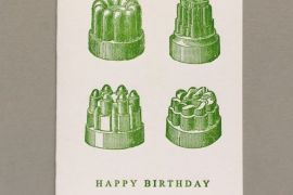 Card (Keyhole Collection): Jelly Moulds