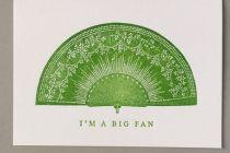 Card (Keyhole Collection): I'm a Big Fan