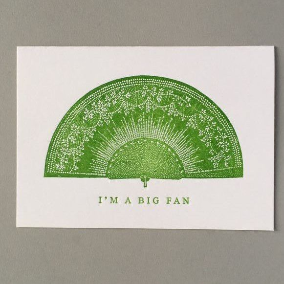 Card (Keyhole Collection): I'm a Big Fan
