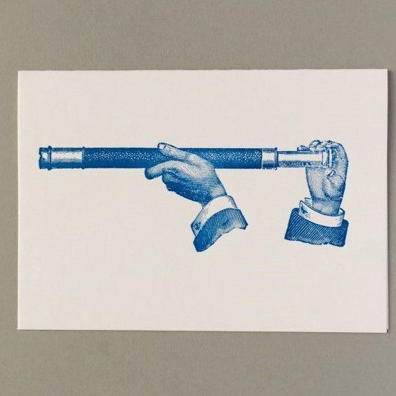 Card (Keyhole Collection): Naval Telescope