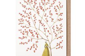 Card (Laura Stoddart):Red Berries