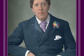 Card (Cath Tate): Oscar Wilde