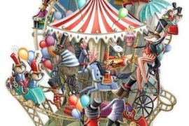 Card ( 3D Pop up): Carousel Capers