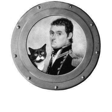 2021 Dooley Flinders and his cat