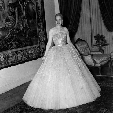 Eva Perón, the First Lady of Argentina and one of Dior's