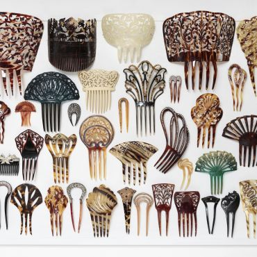 Deborah Klein-Hair Ornaments.  Copyright held by Artist