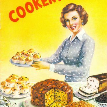 Food, cooking, dried fruit cookbook, 1939, Watson