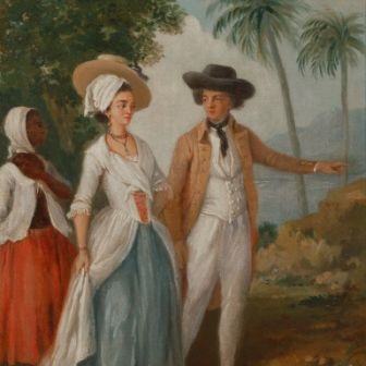 Planter-and-his-Wife-with-a-Servant-circa-1780